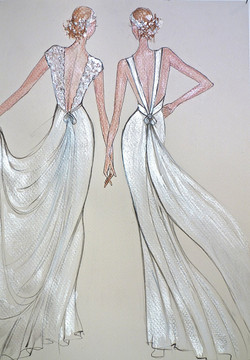 Robes de mariée dos nu