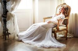 Une robe sobre et romantique