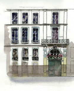 Fanny Liautard rue Saint Florentin