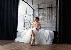La mariée dans sa chambre