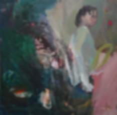 catherine seher peinture acrylique pigments sur toile