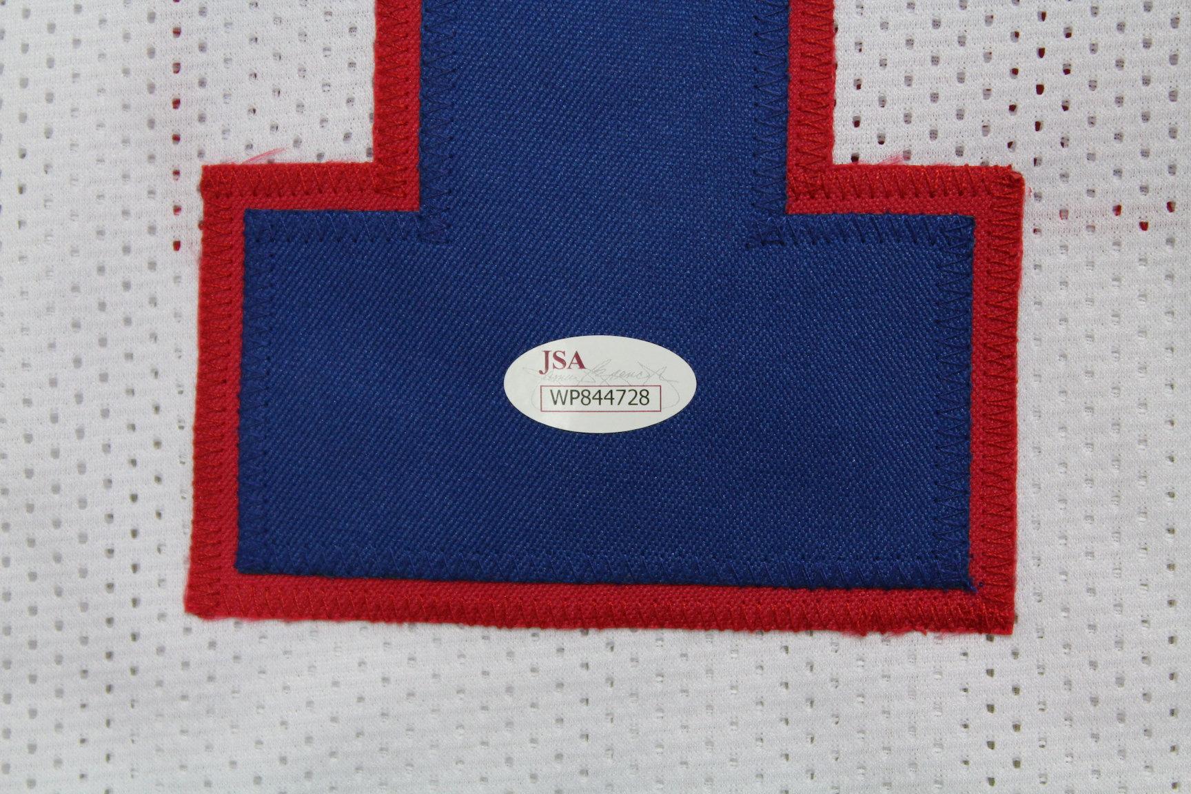 best website 7f9d9 d3e6d Jim Kelly Autographed Custom Buffalo Bills Jersey