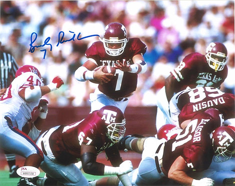 Bucky Richardson Autographed 8x10 Photo