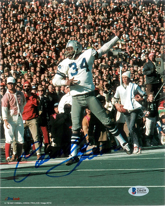 Cornell Green Autographed 8x10 Photo