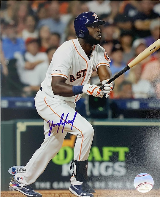 Yordan Alvarez Autographed 8x10 Photo