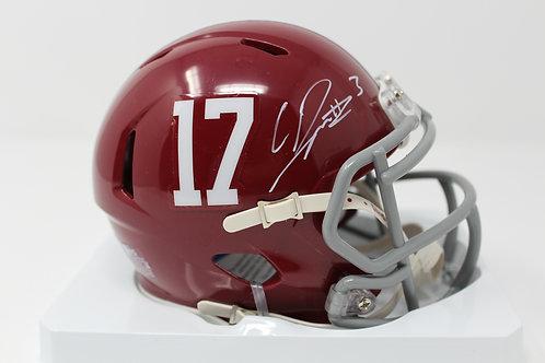 Calvin Ridley Autographed Alabama Mini Helmet