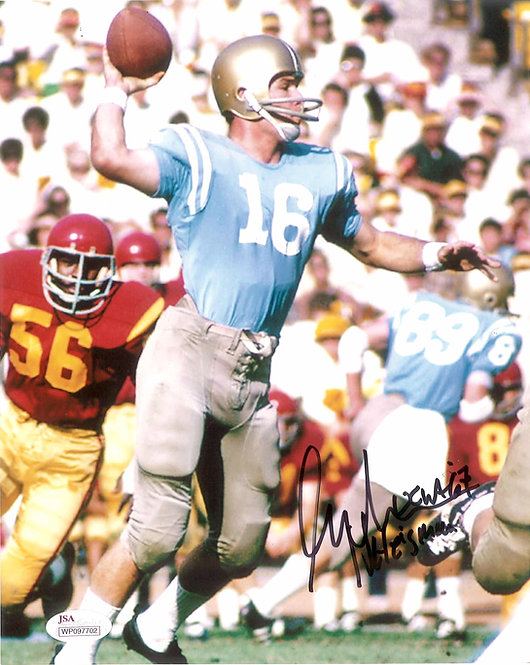 Gary Beban Autographed 8x10 Photo