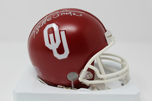 Billy Sims Autographed OU Sooners Mini Helmet Inscribed 78 Heisman