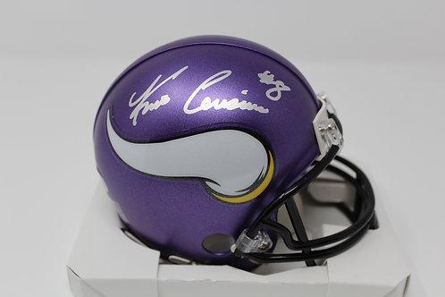 Kirk Cousins Autographed Minnesota Vikings Mini Helmet