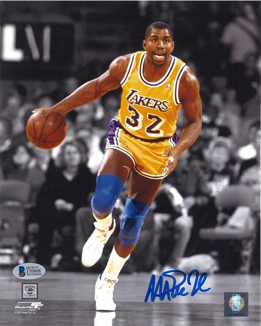 Magic Johnson Autographed 8x10 Photo