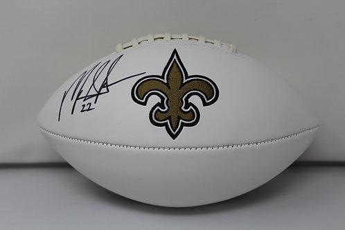 Mark Ingram Autographed New Orlean Saints Logo Ball