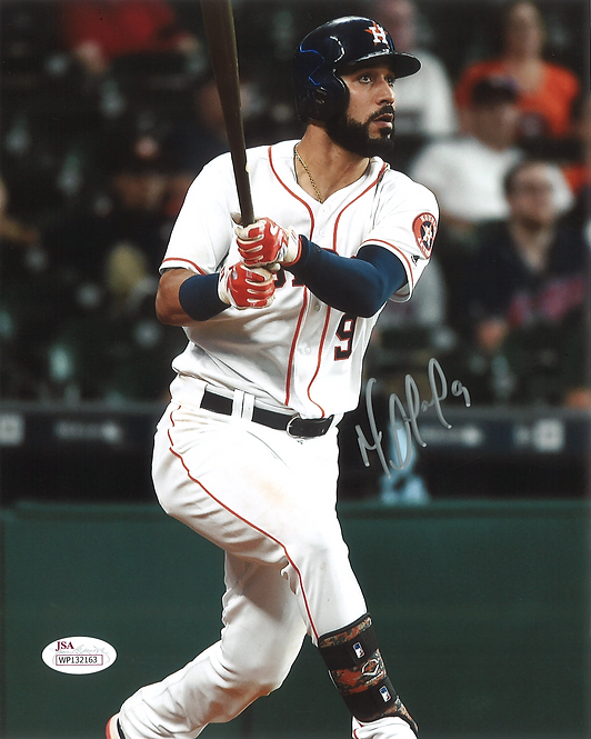 Marwin Gonzalez Autographed Houston Astros 8x10 Photo