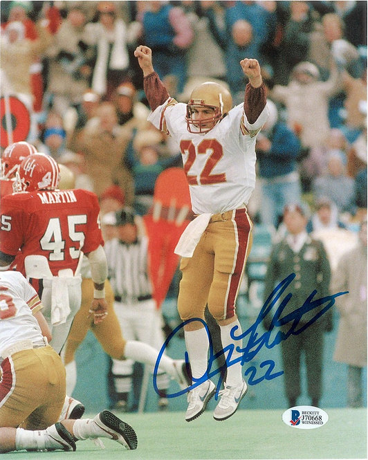 Doug Flutie Autographed 8x10 Photo