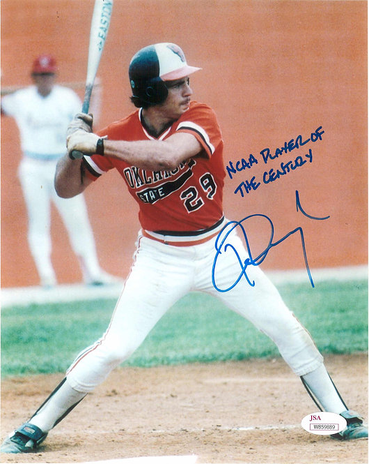 Pete Incaviglia Autographed 8x10 Photo