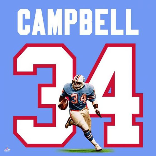 Earl Campbell Uniframe