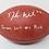 Thumbnail: Deshaun Watson Autographed Authentic NFL Football wt Draft Inscription