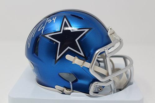 Jaylon Smith Autographed Dallas Cowboys Blaze Mini Helmet