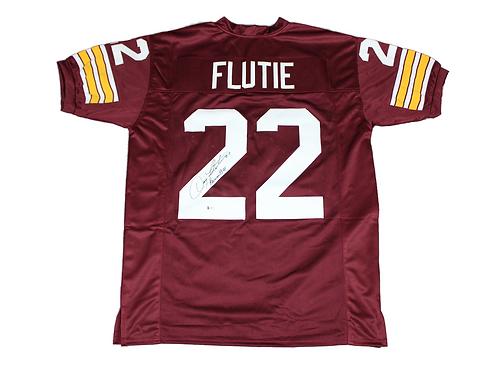 Doug Flutie Autographed Custom Boston College Jersey