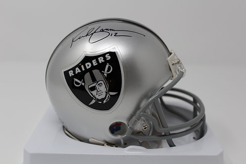 Rich Gannon Autographed Oakland Raiders Mini Helmet
