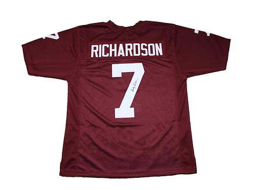 Bucky Richardson Autographed Custom Texas A&M Jersey