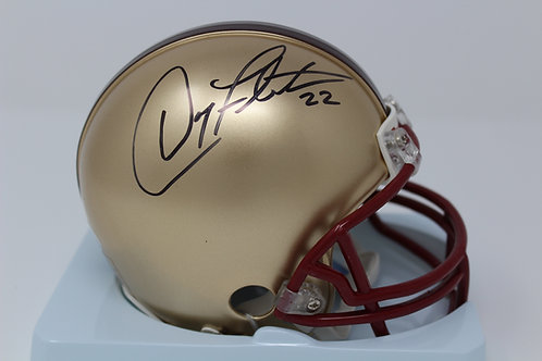 Doug Flutie Autographed Boston College Mini Helmet
