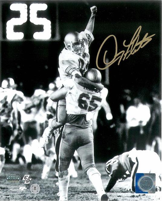 Doug Flutie Autographed 8x10 Photo
