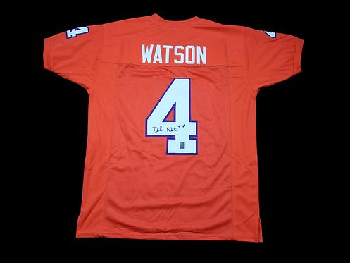 Deshaun Watson Autographed Custom Clemson Jersey