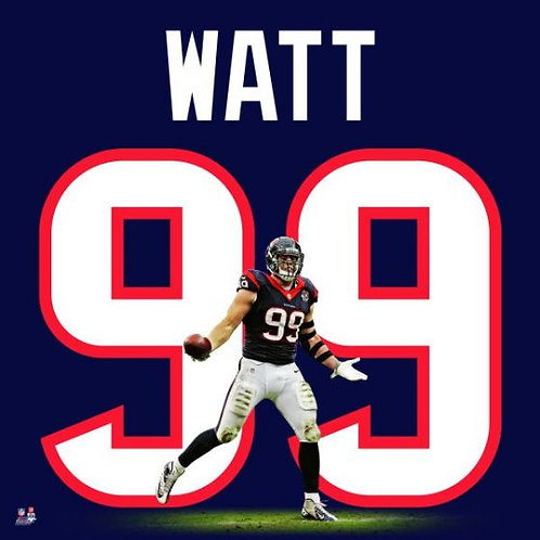 JJ Watt Uniframe