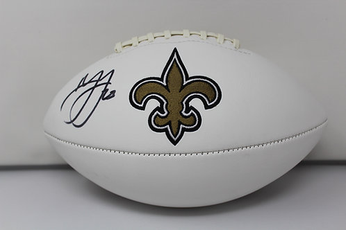 Marshon Lattimore Autographed New Orlean Saints Logo Ball