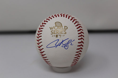 Alex Bregman Autographed 2017 World Series Baseball