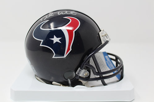 Deshaun Watson Autographed Texans Mini Helmet