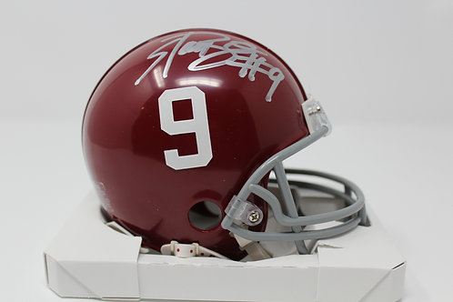 Bo Scarbrough Autographed Alabama Mini Helmet