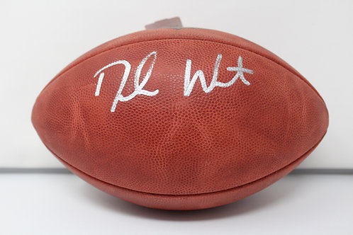 Deshaun Watson Autographed Authentic NFL Football