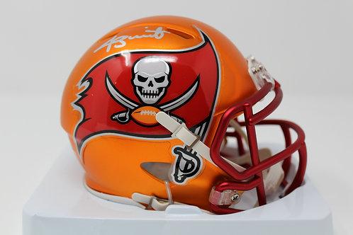 Jameis Winston Autographed Tampa Bay Buccaneers Blaze Mini Helmet