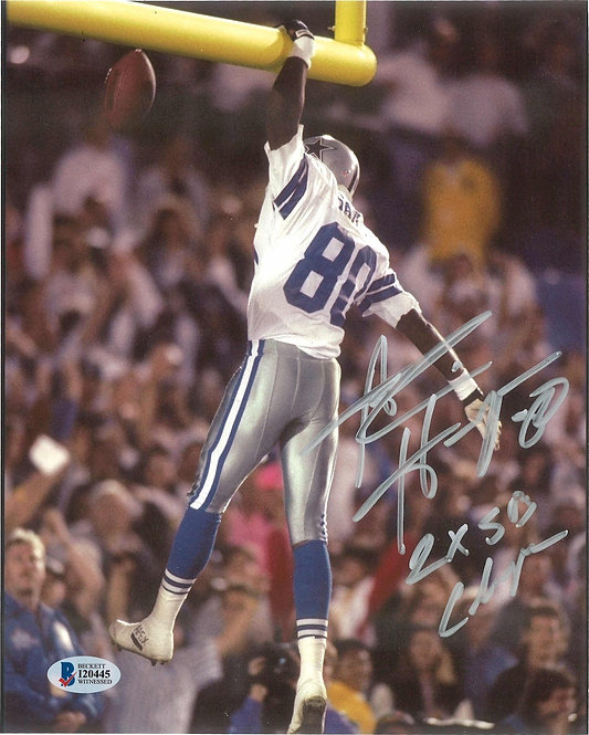 Alvin Harper Autographed 8x10 Photo