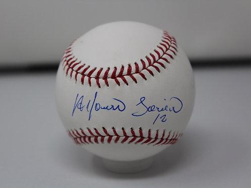 Alfonso Soriano Autographed Baseball