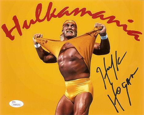 Hulk Hogan Autographed 8x10 Photo