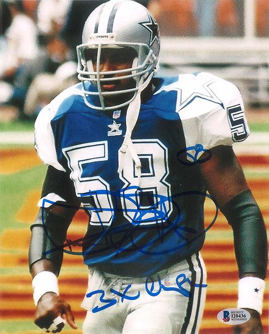 Dixon Edwards Autographed 8x10 Photo