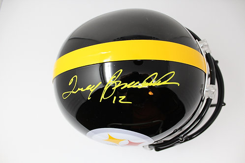 Terry Bradshaw Autographed Steelers Full Size Helmet