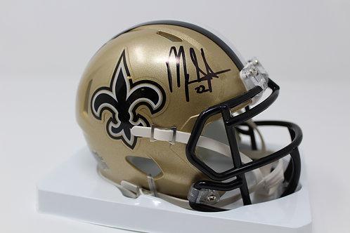 Mark Ingram Autographed New Orlean Saints Mini Helmet