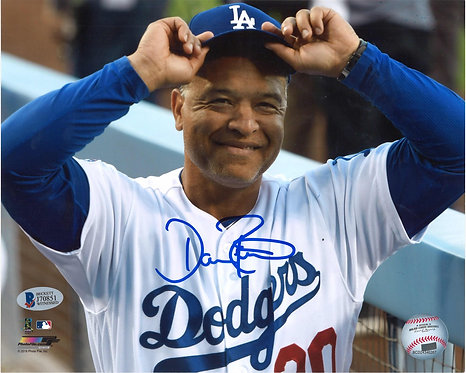 Dave Roberts Autographed 8x10 Photo