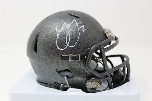 Marshon Lattimore Autographed Ohio State Mini Helmet