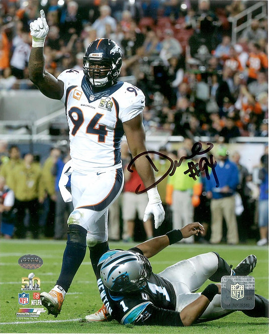 DeMarcus Ware Autographed 8x10 Photo