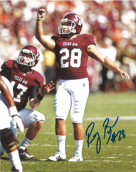Randy Bullock Autographed 8x10 Photo