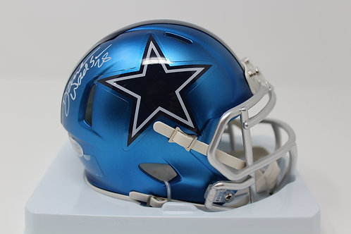 Darren Woodson Autographed Dallas Cowboys Blaze Mini Helmet
