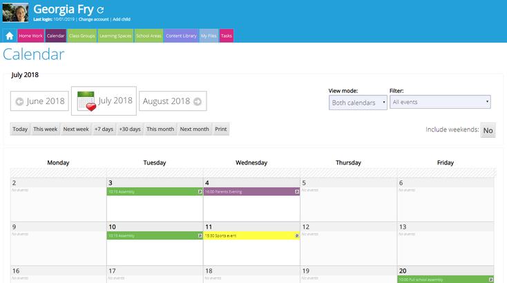 Calendars & Events