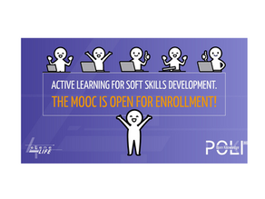 """NEW MOOC """"ACTIVE LEARNING IN SOFT SKILLS"""""""