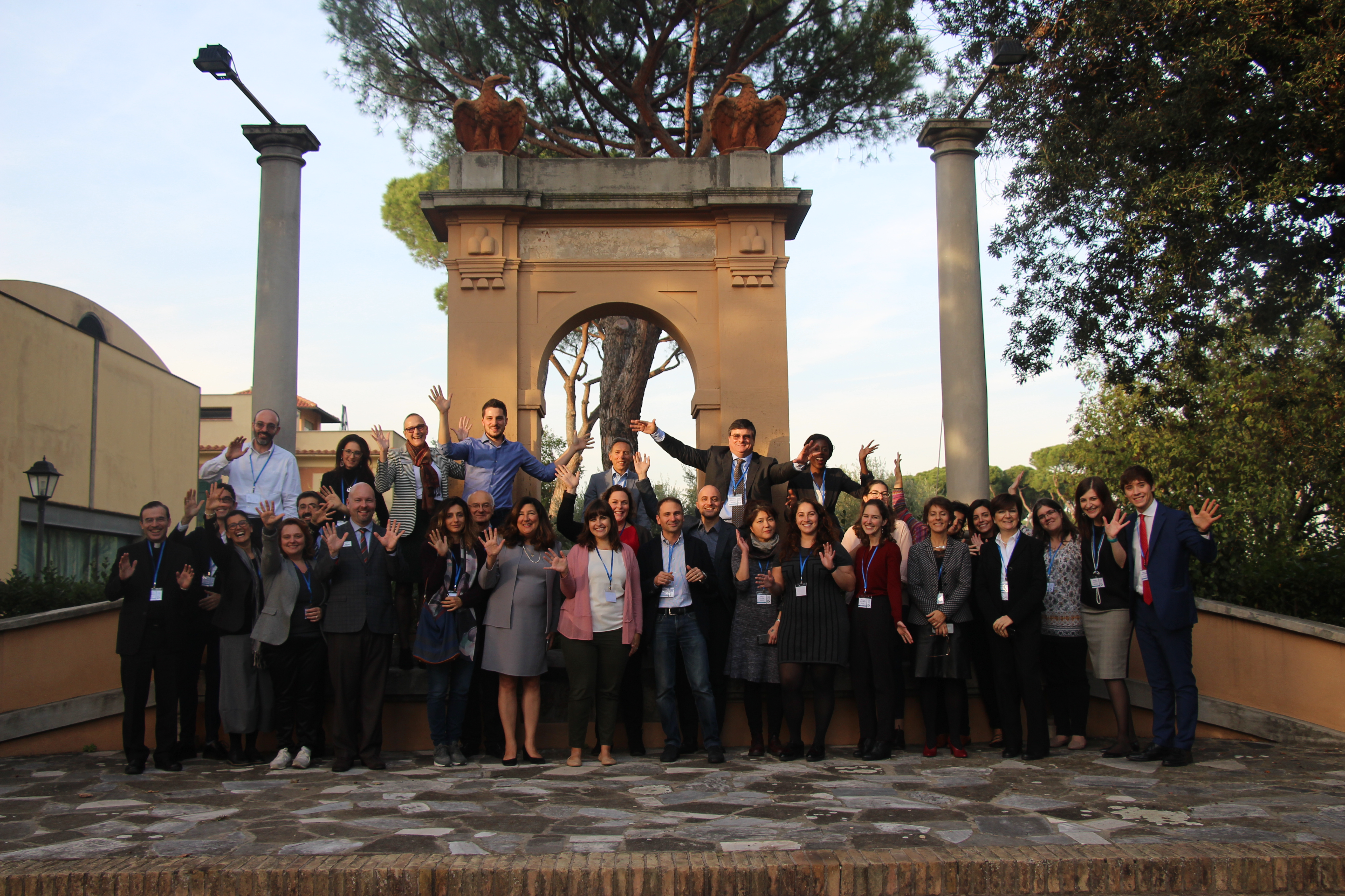 Training event for SAS professionals. Rome, Italy; November 2018