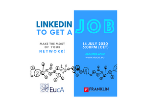 NEW WEBINAR LinkedIn to Get a Job: Make the Most of Your Network!