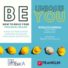 Be Unique, Be YOU!.png